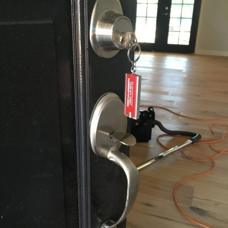 lock change in residential home